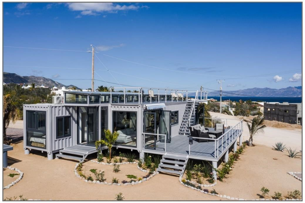 Casas-Baja Launches New Line of Container Housing – Eco-Friendly Luxury Living That is Also Cost Effective