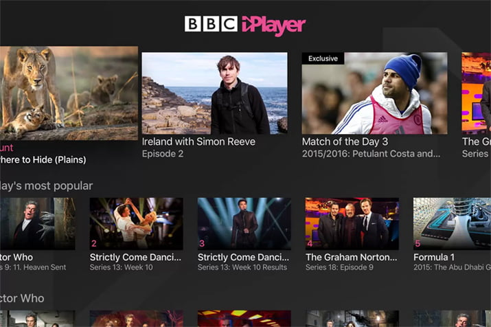 Stuck Abroad? Here's How to Watch BBC iPlayer