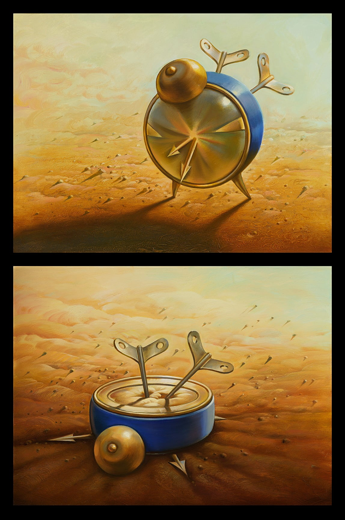 Kill Time by Vladimir Kush