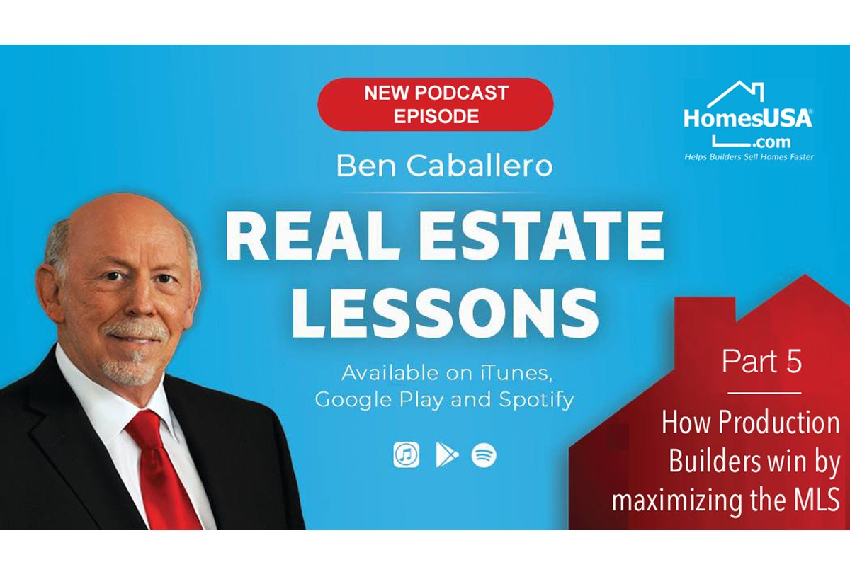 Top-Ranked Real Estate Agent Ben Caballero Issues New Podcast Episode