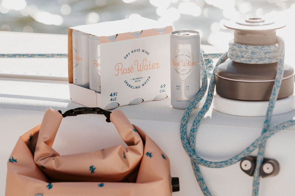 Rosé Water, a Wine x Sparkling Water Hybrid, Launches Just in Time for Summer