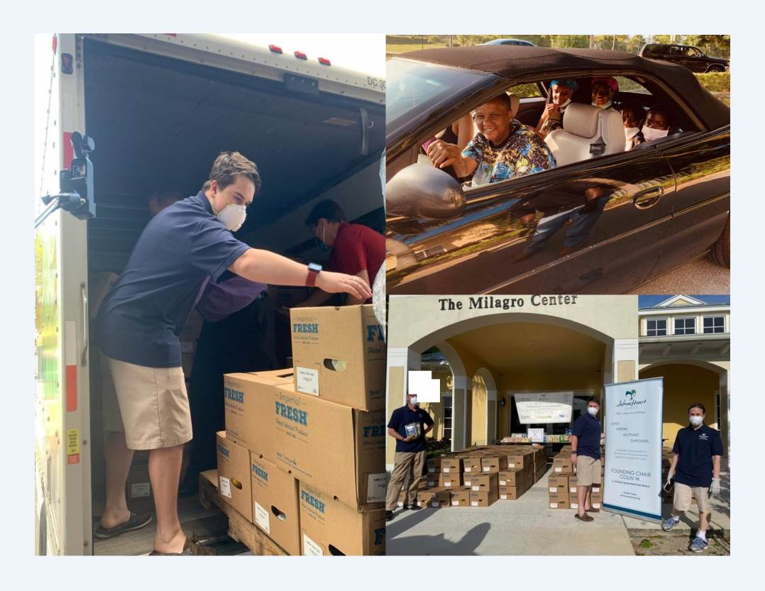 Joshua's Heart Boca Raton makes Global Youth Service Day special for 165 families amid COVID-19