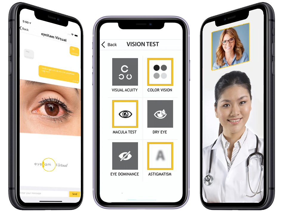 EyeXam and GenieMD Announce Mobile Collaboration in Eye Care