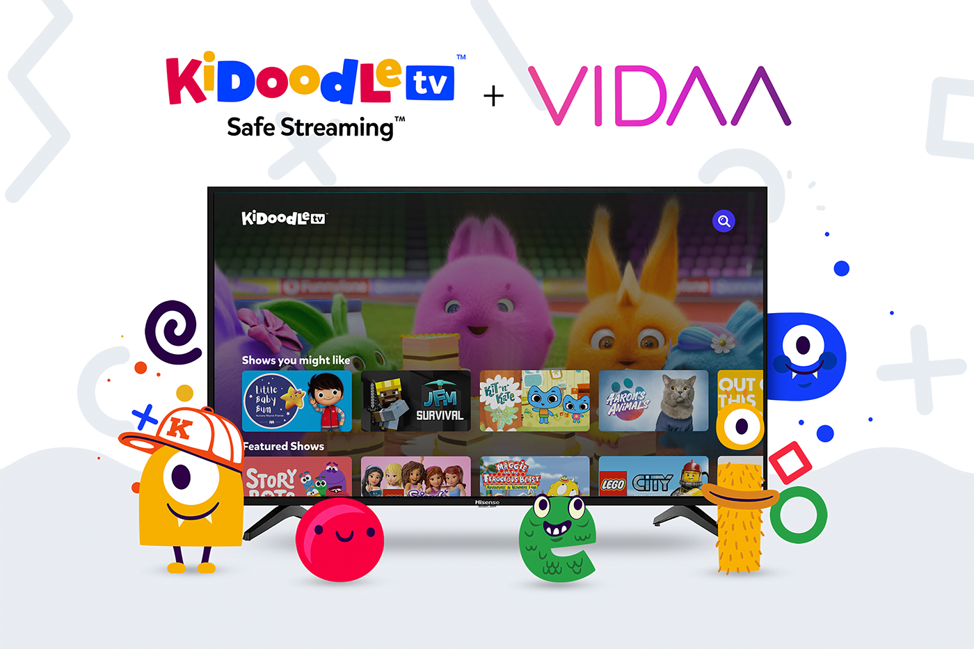 Kidoodle.TV is Coming Soon to New VIDAA-Enabled Hisense Devices