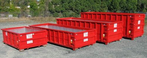 Roll away dumpster