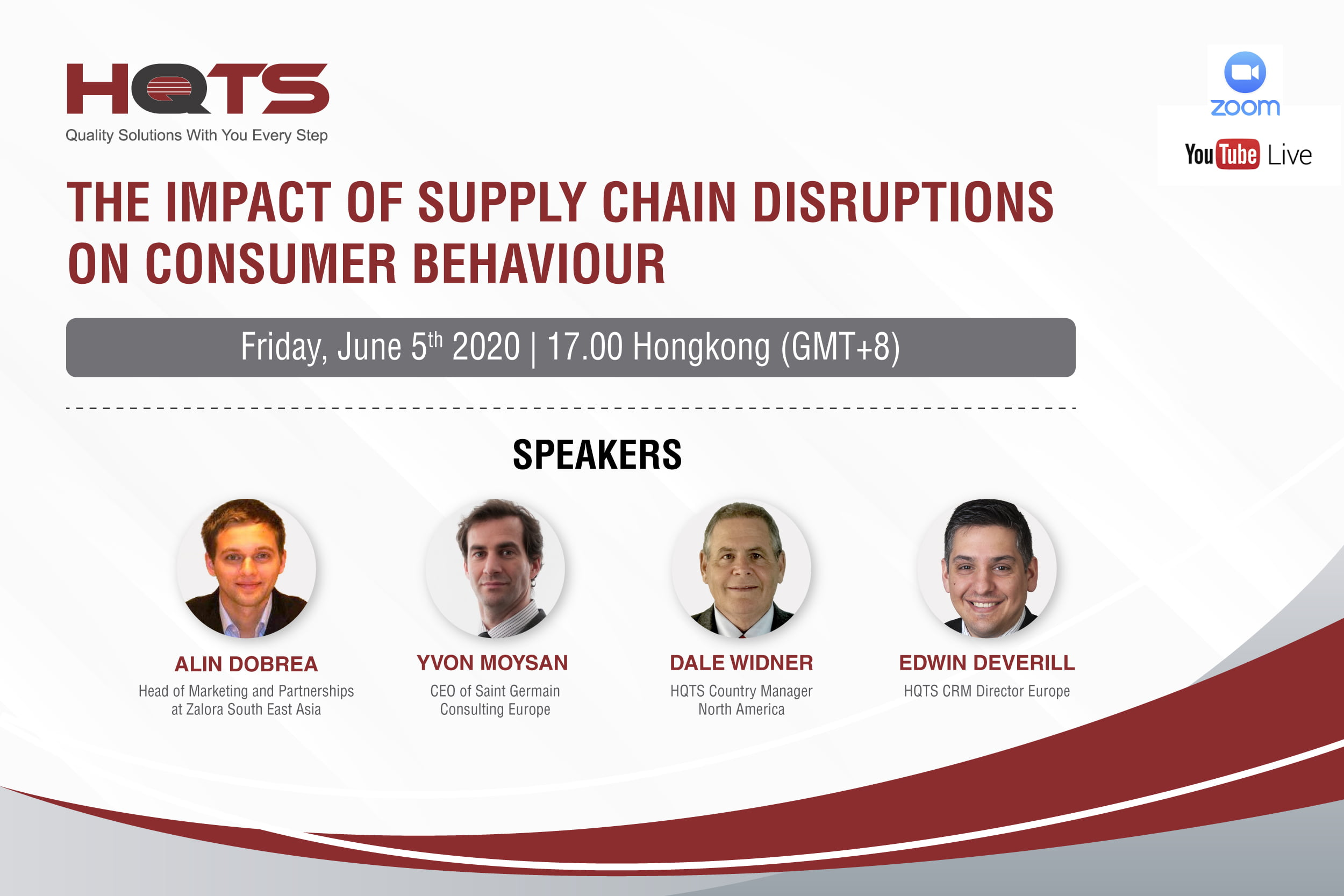 HQTS Online Conference Was a Success: The Impact of Supply Chain Disruptions on Consumer Behaviour