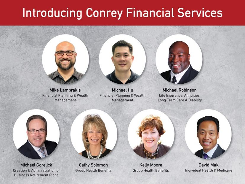 Additional Team Members Bring Specialized Expertise to New Conrey Financial Services Department