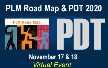 PLM Road Map & PDT Fall 2020 to be Held Virtually in November