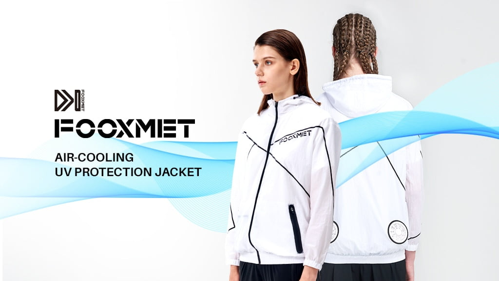 FooxMet Air Announces Kickstarter Launch of an Innovative UV Protection Cooling Jacket