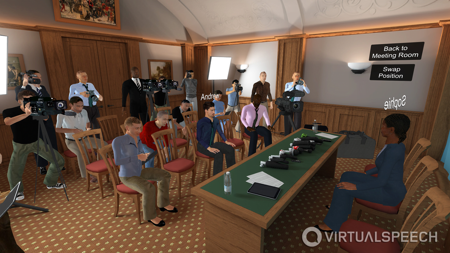 VirtualSpeech Enhances E-Learning Courses With Live Training in Virtual Reality
