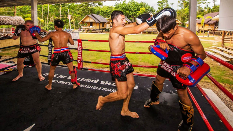 Exotic holiday with Muay Thai training and boxing in Thailand for your new experience