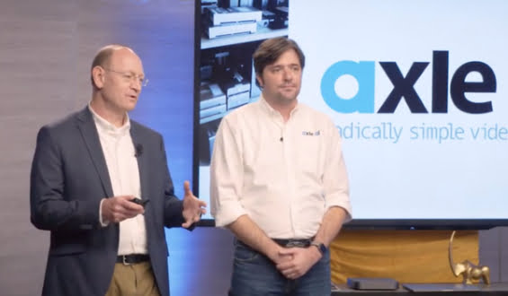 Axle AI appears on Sony's Meet the Drapers show – equity crowdfunding ends at midnight PDT tonight