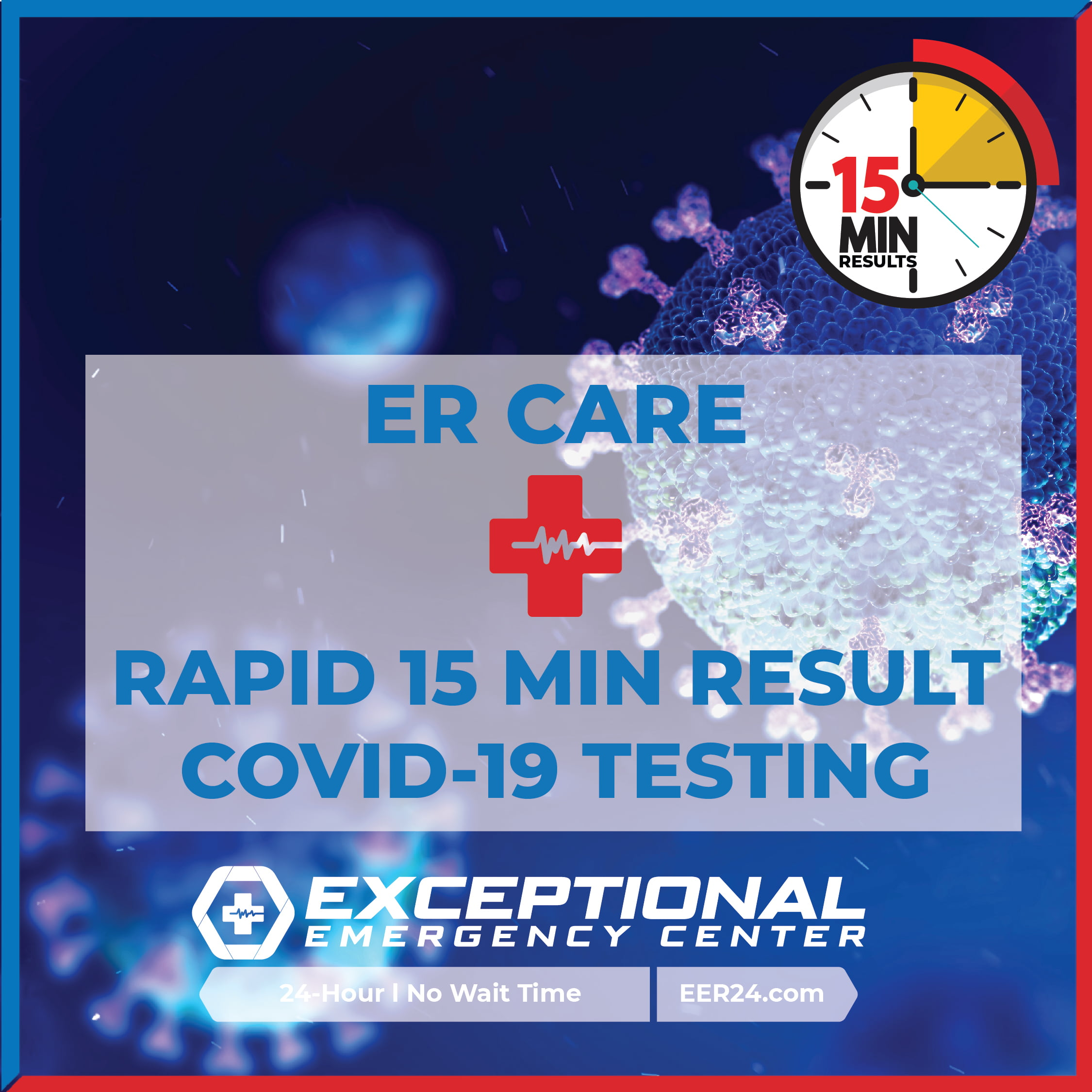 Rapid COVID-19 Testing Now Available at All Exceptional Emergency Center Locations in Texas