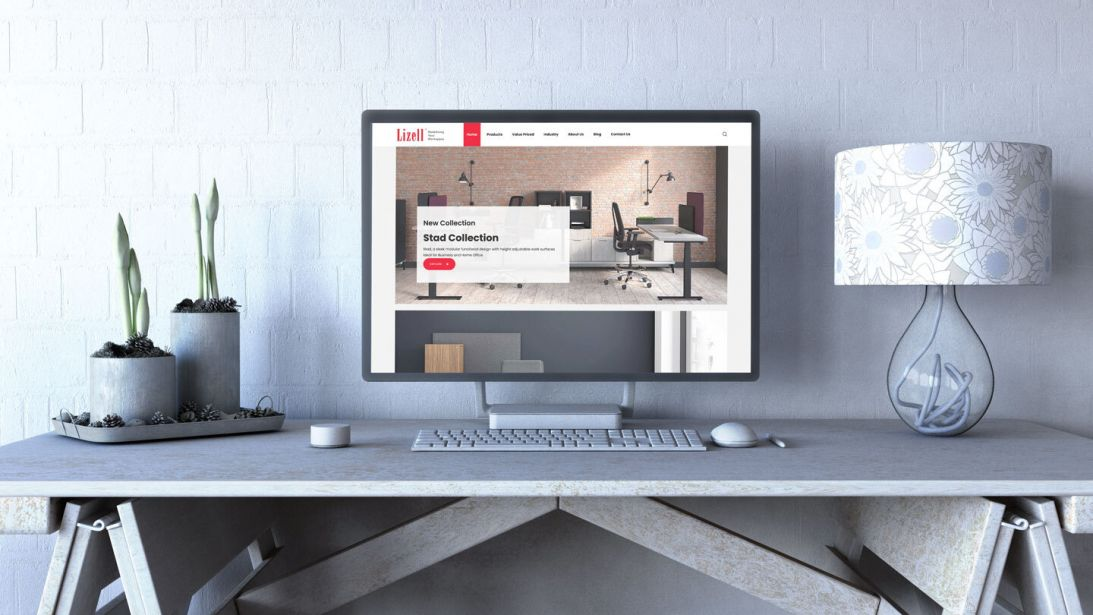 Consumer51 Launches New Website for Lizell Office Furniture