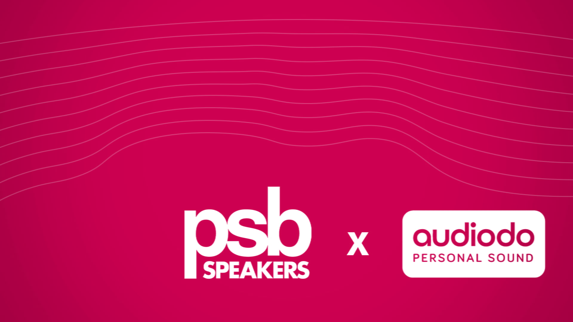PSB Speakers Announces Partnership With Audiodo