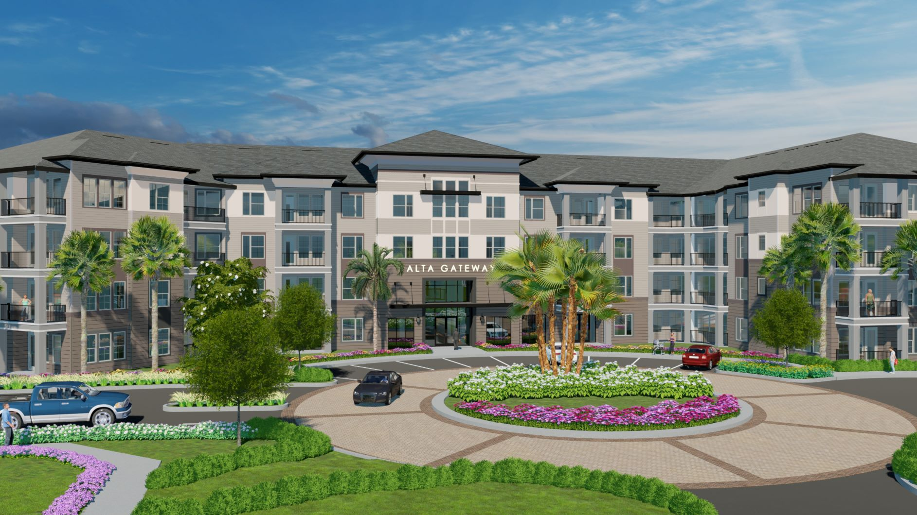 Wood Partners Announces Grand Opening of Alta Gateway in Pinellas Park, Florida
