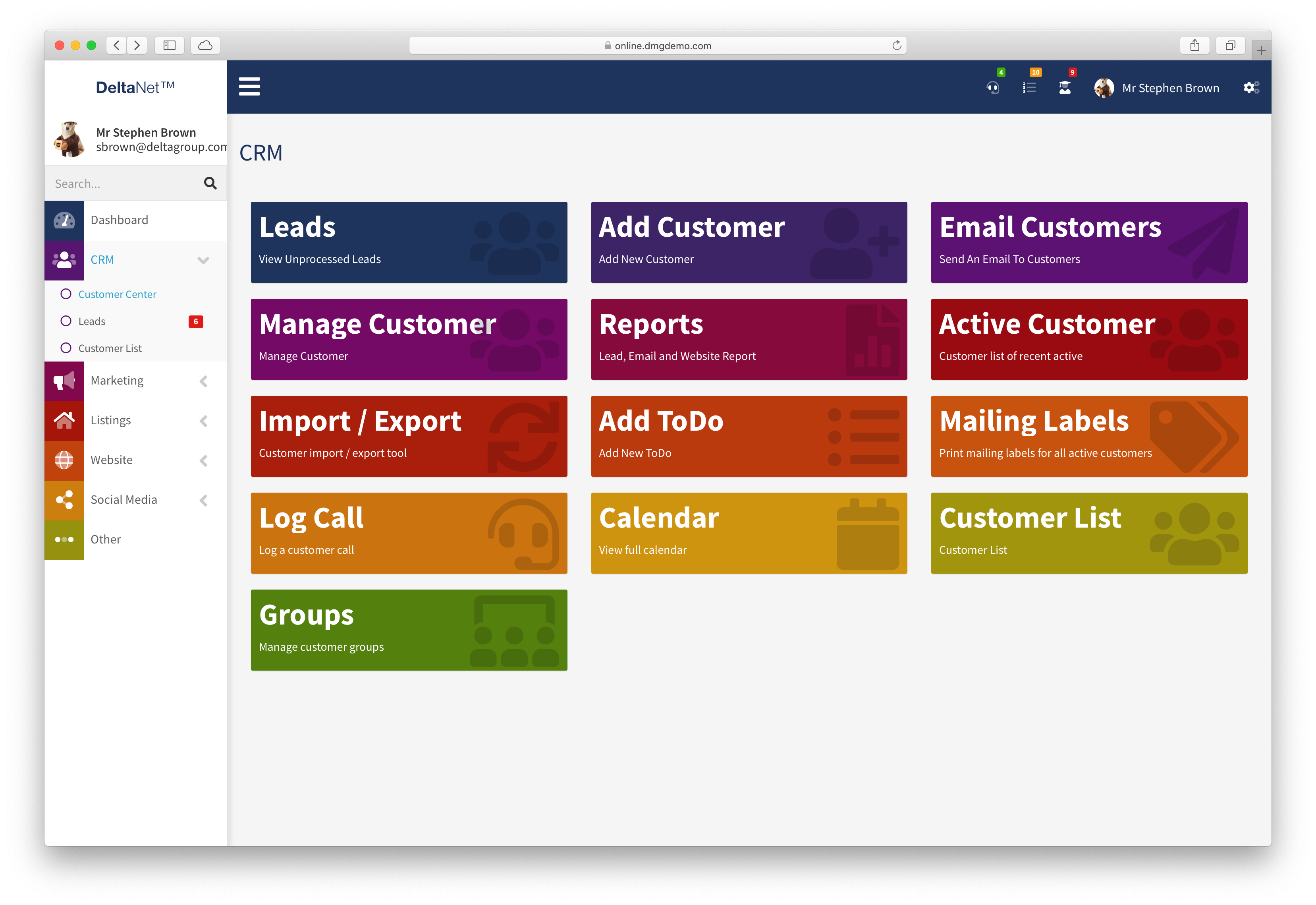 Real Estate Agents, Teams Get Access to Delta Media's Best CRM Platform for the First Time
