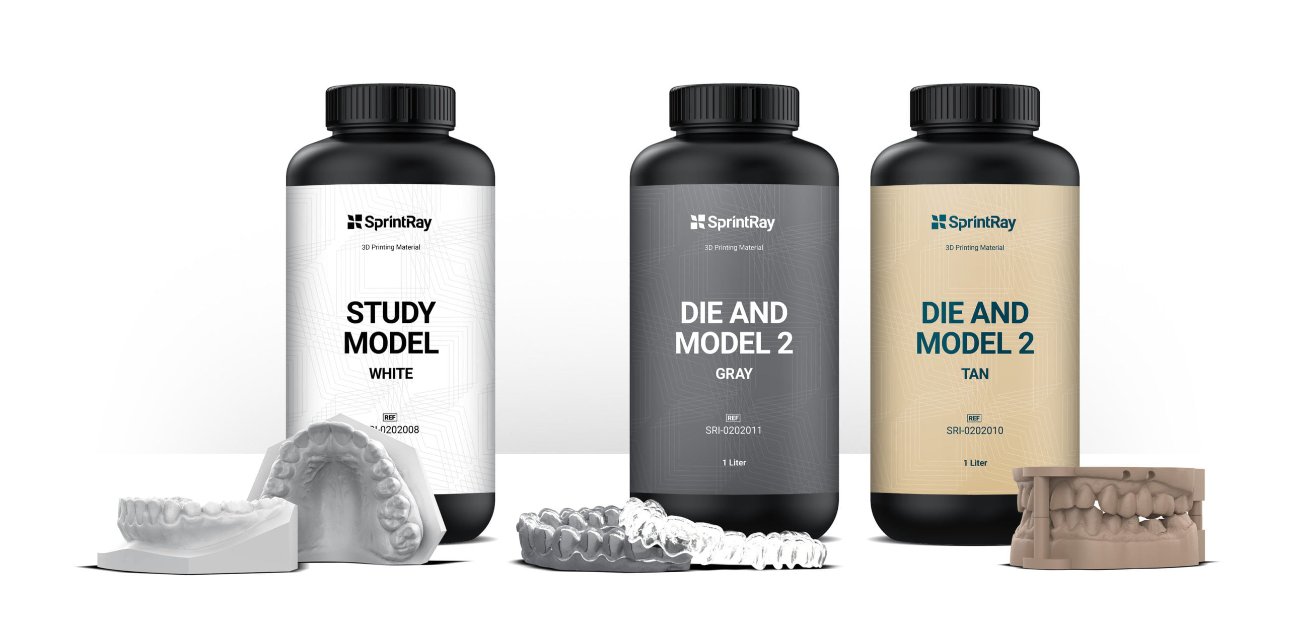 SprintRay, Inc. Releases New and Improved Versions of Popular Die & Model Materials for Its Dental 3D Printing Ecosystem