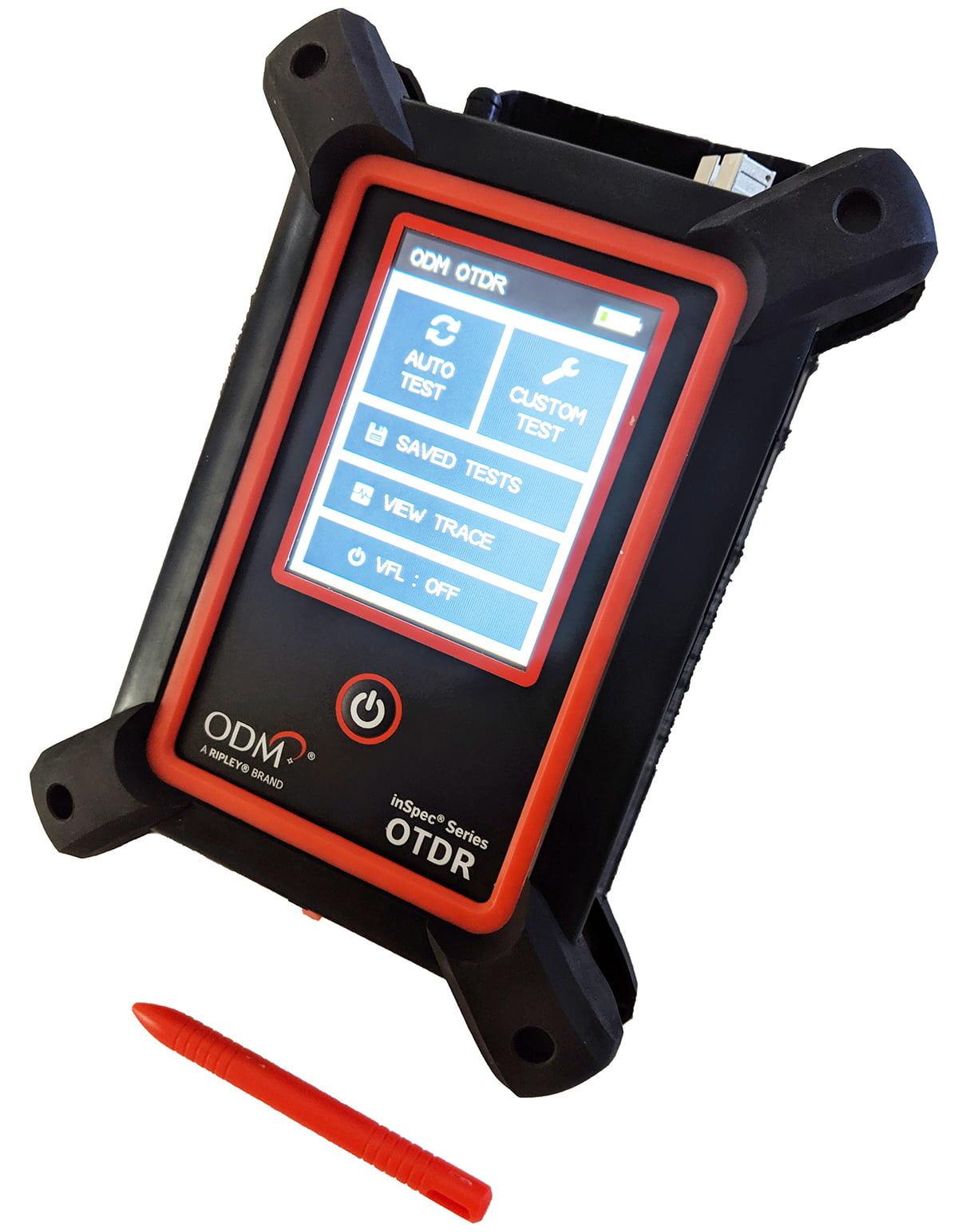 New ODM® OTDR Rugged and Compact Design Weighs Less Than 1.5 Lbs