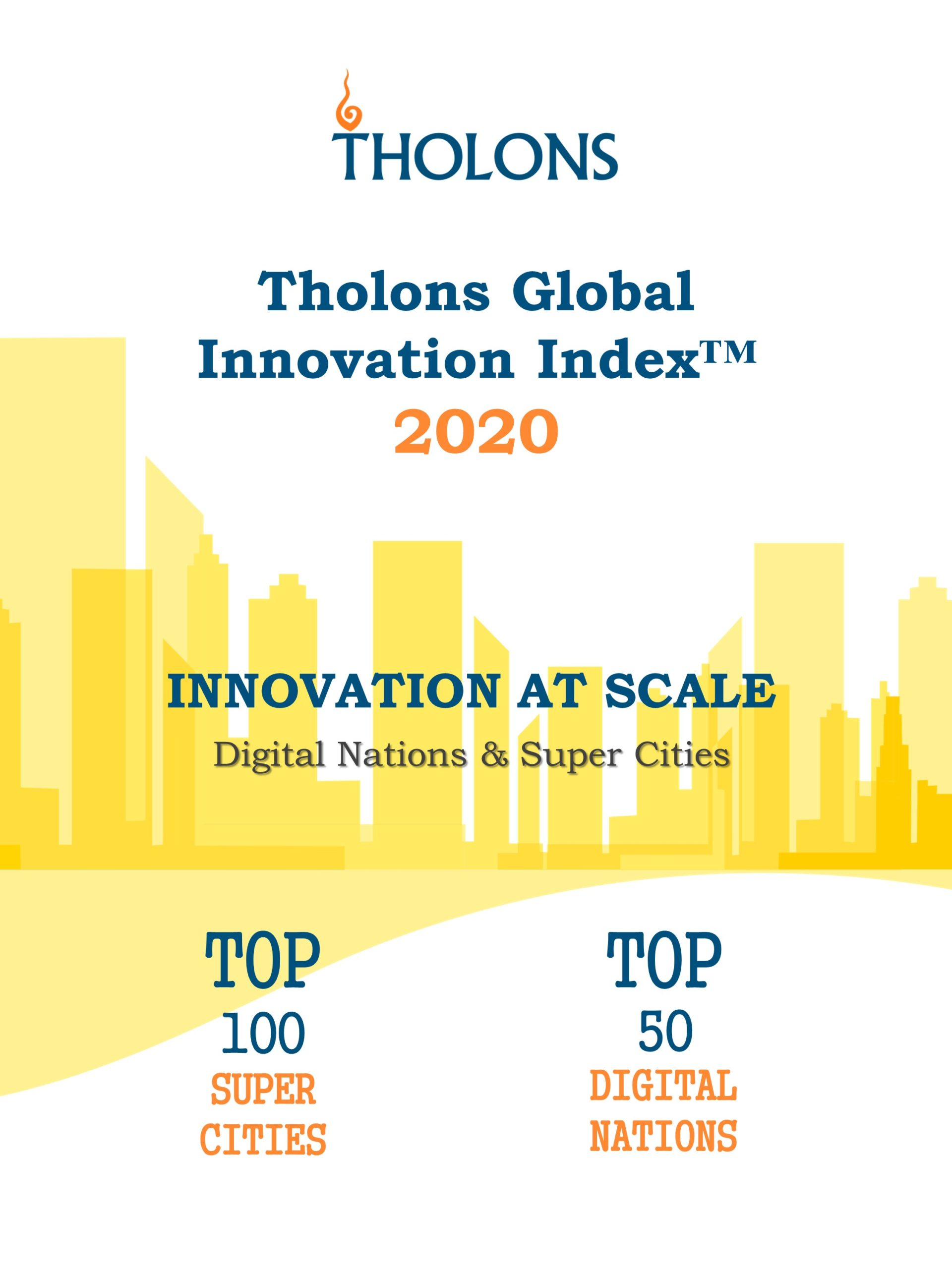 Tholons Releases 2020 Global Innovation Index