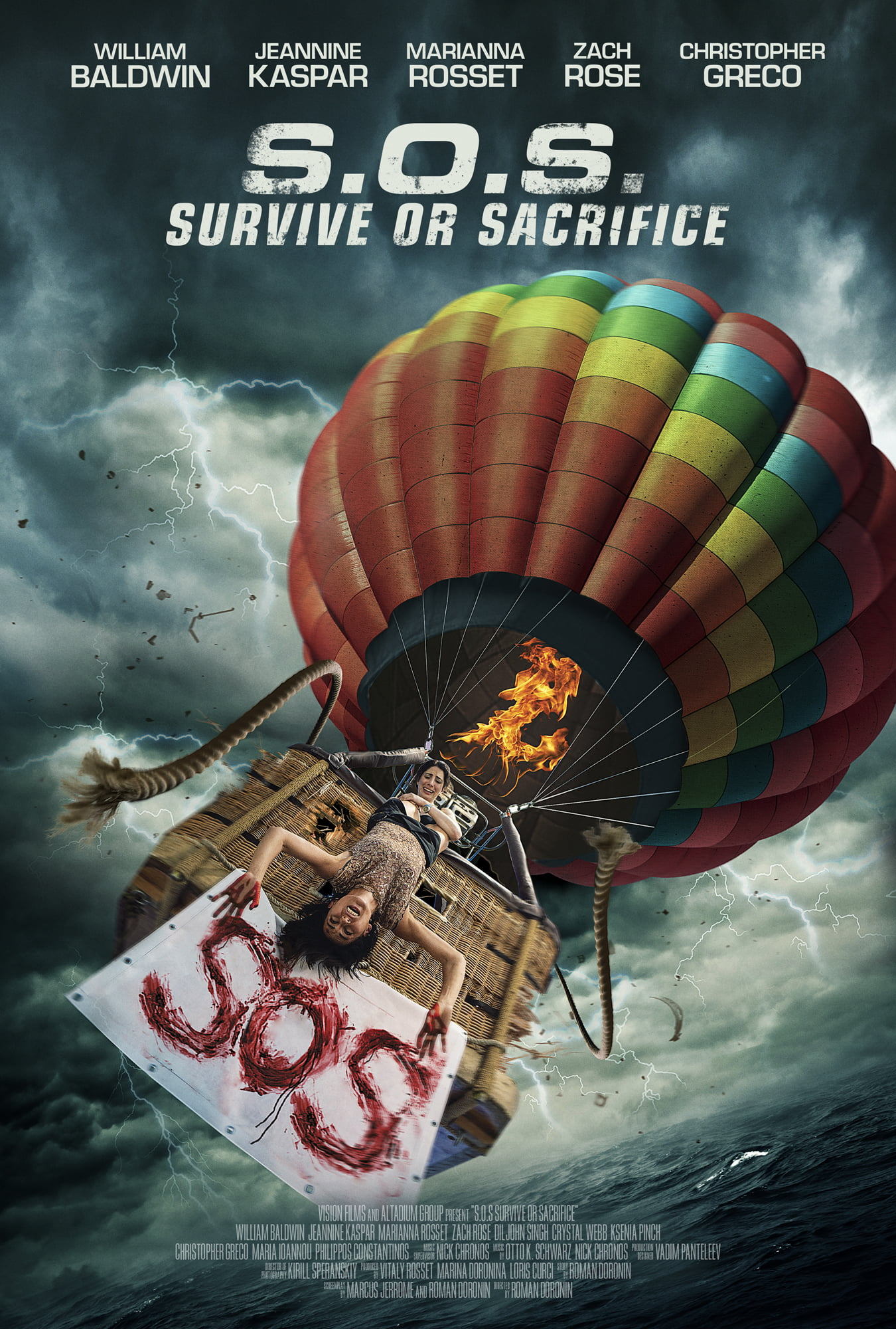 Vision Films Takes on 'S.O.S. Survive or Sacrifice' for Domestic and International Licensing