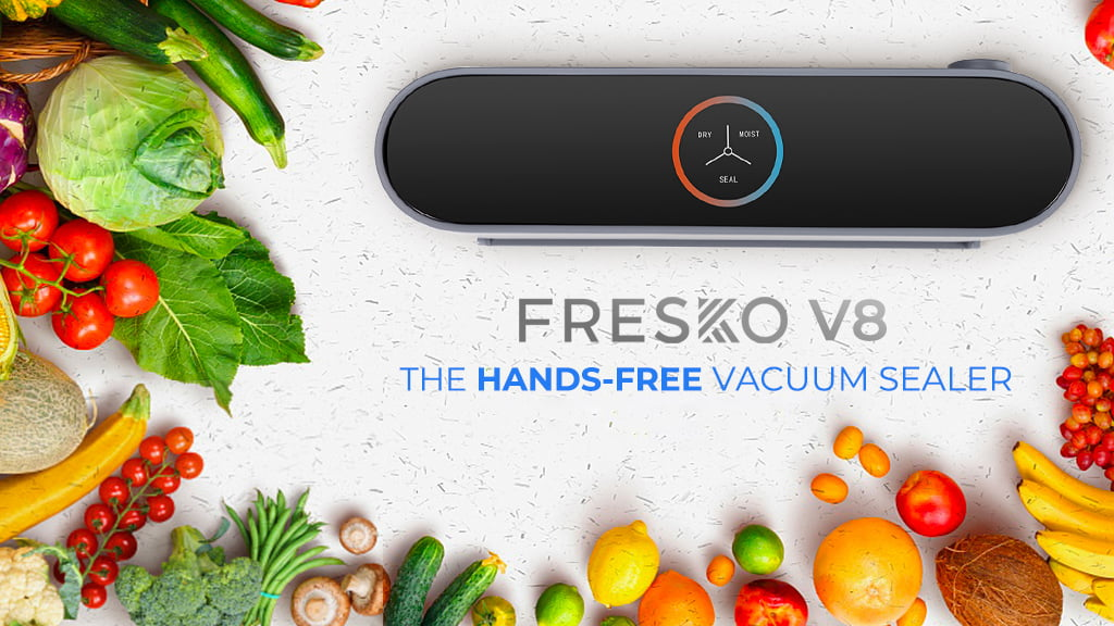 FRESKO V8 – the Affordable and Intelligent 5-in-1 Food Sealer – Announces Launch