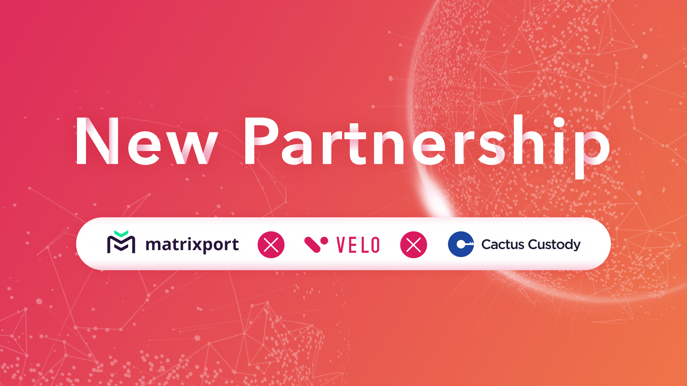 Cactus Custody Supports the VELO Token
