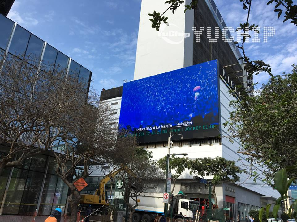 YUCHIP Launches New Design: 'Cold' LED Advertising Screen, Saving Up to 56% Energy Cost