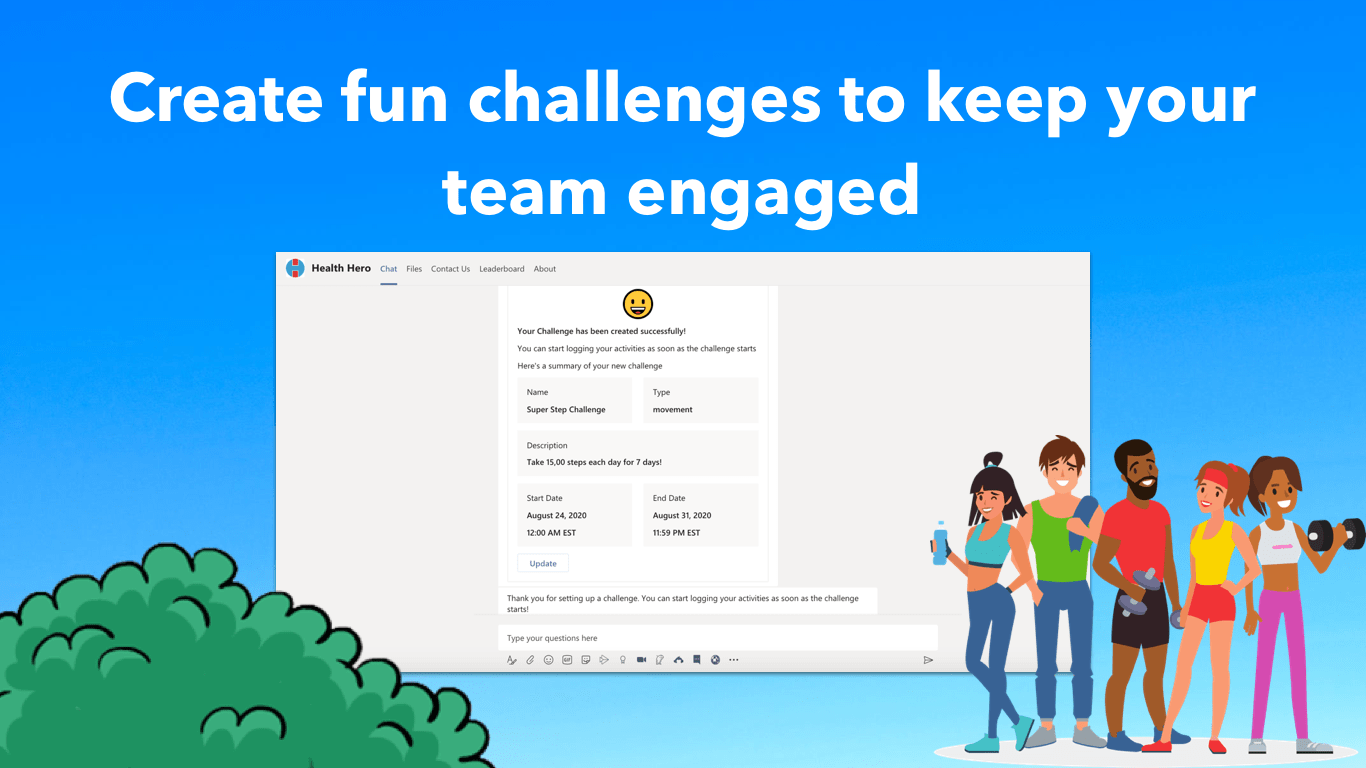Health Hero for Teams Now Available on Microsoft AppSource