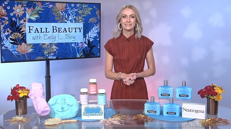 Celebrity Journalist Emily Foley Shares Fall Beauty Advice on Tips on TV Blog