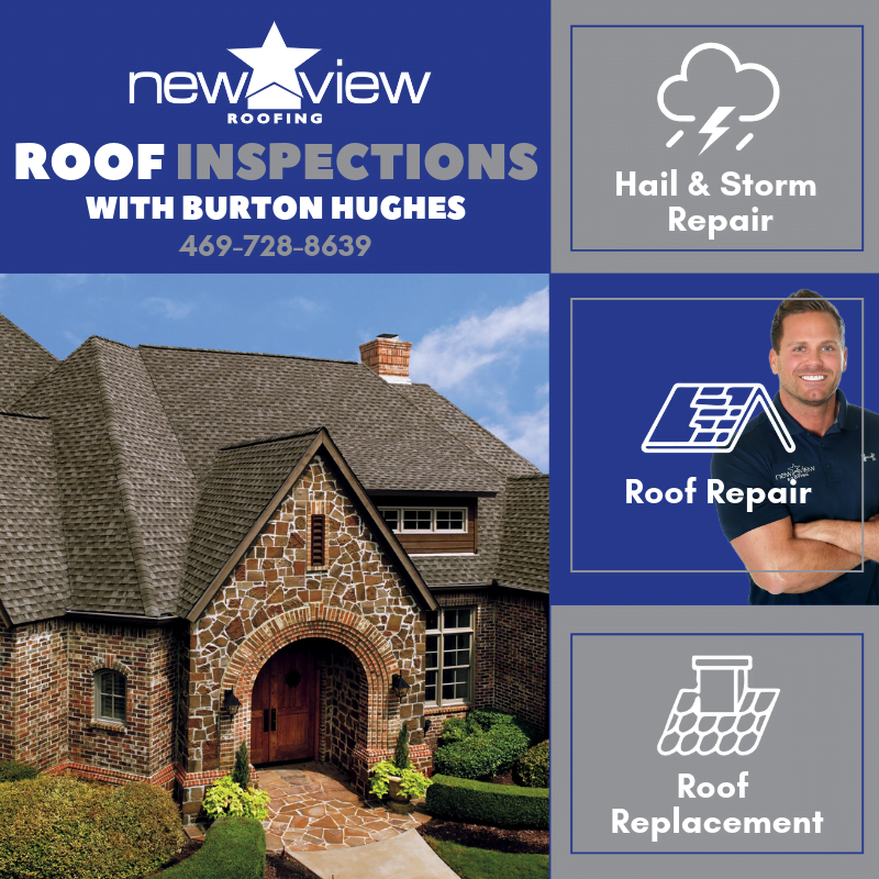 DFW Roofing Contractor Burton Hughes Announces Last Chance to Get a Free Roof Inspection in Summer