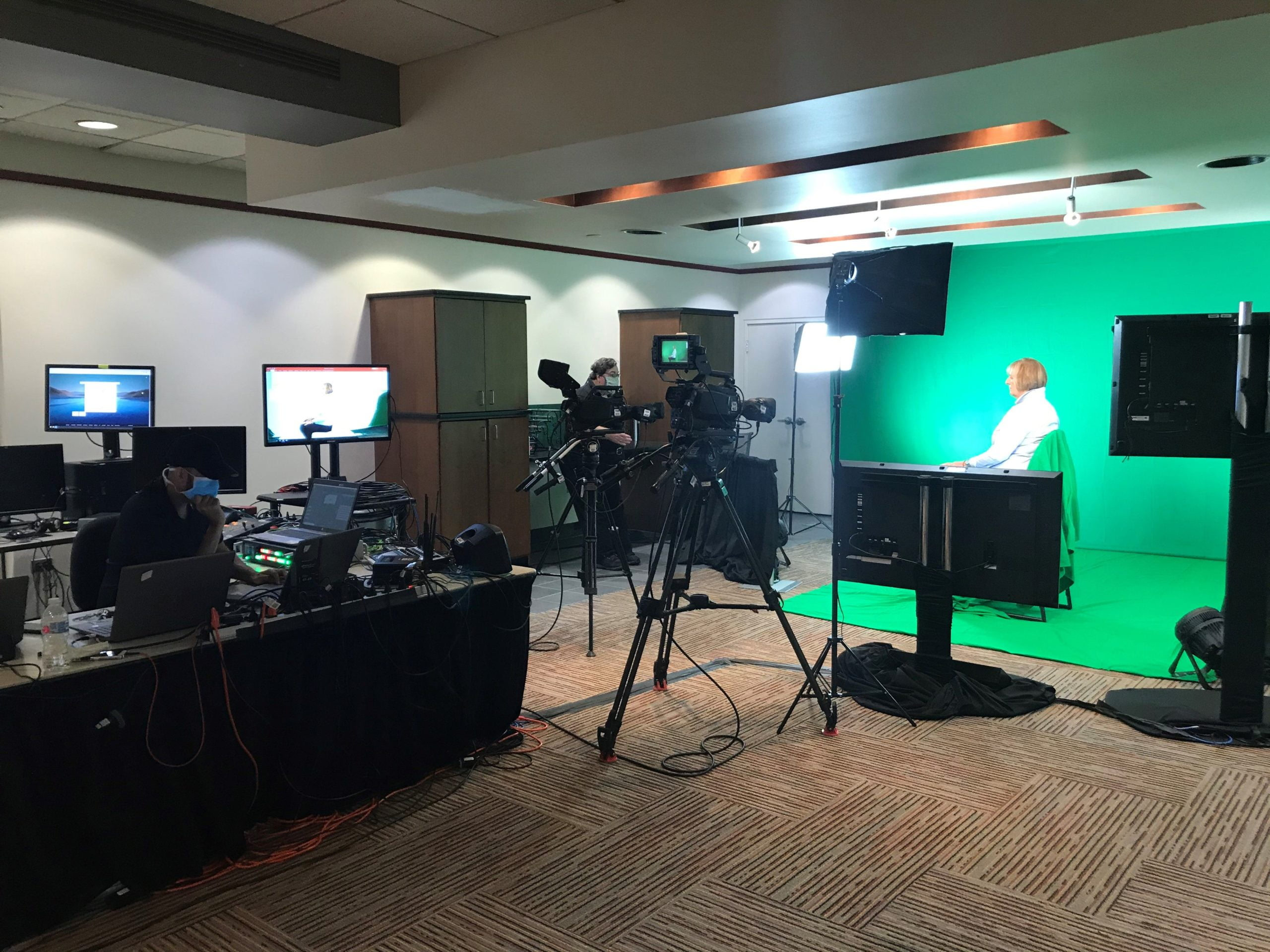 Baltimore Convention Center & Projection Debut Virtual Studio for IAEE CEM Week