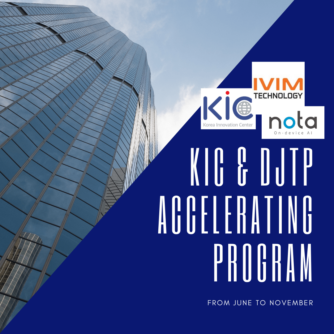 Nota and IVIM Technology Take Over the US Market as Part of an Accelerator Program Organized and Supported by Korea Innovation Center Washington DC (KIC DC) With K2 Global Strategies as Their Trusted Partner in This Journey