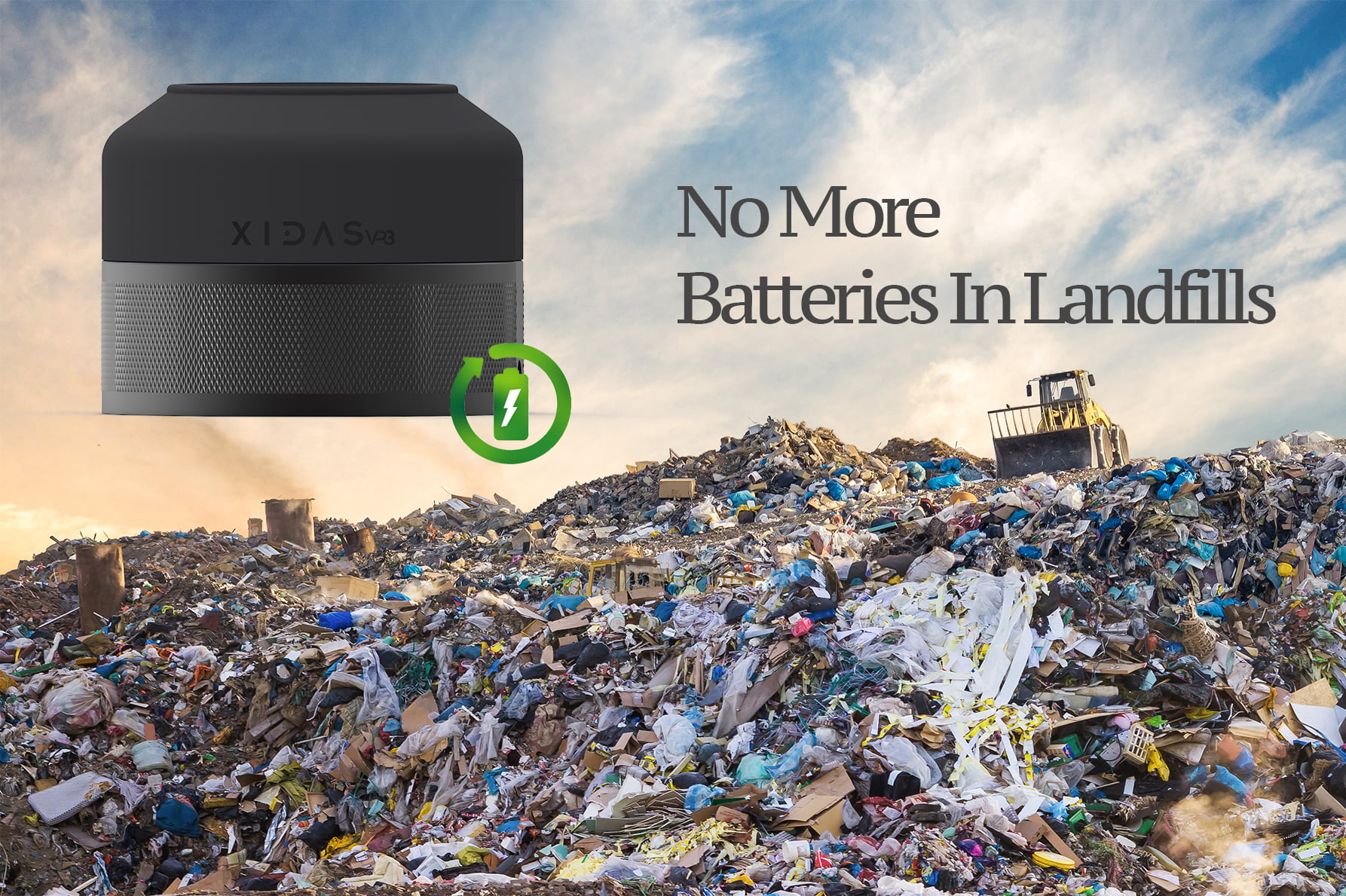Xidas's New 'VP3' Power Pod Tackles Sustainability and Landfill Issues Created by the IoT Industry