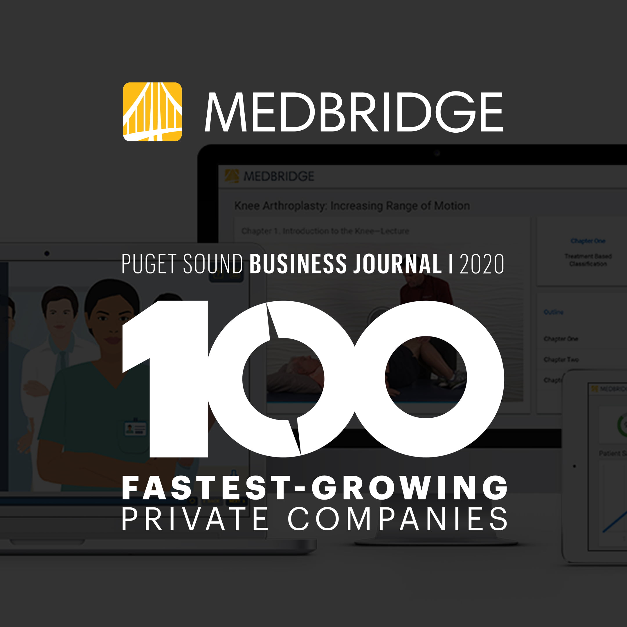 MedBridge Named 17th Fastest Growing Private Company By Puget Sound Business Journal