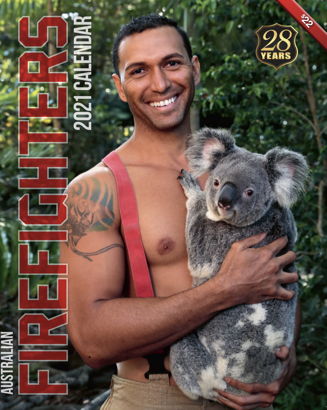 Australian Firefighters Calendar is Back for 2021