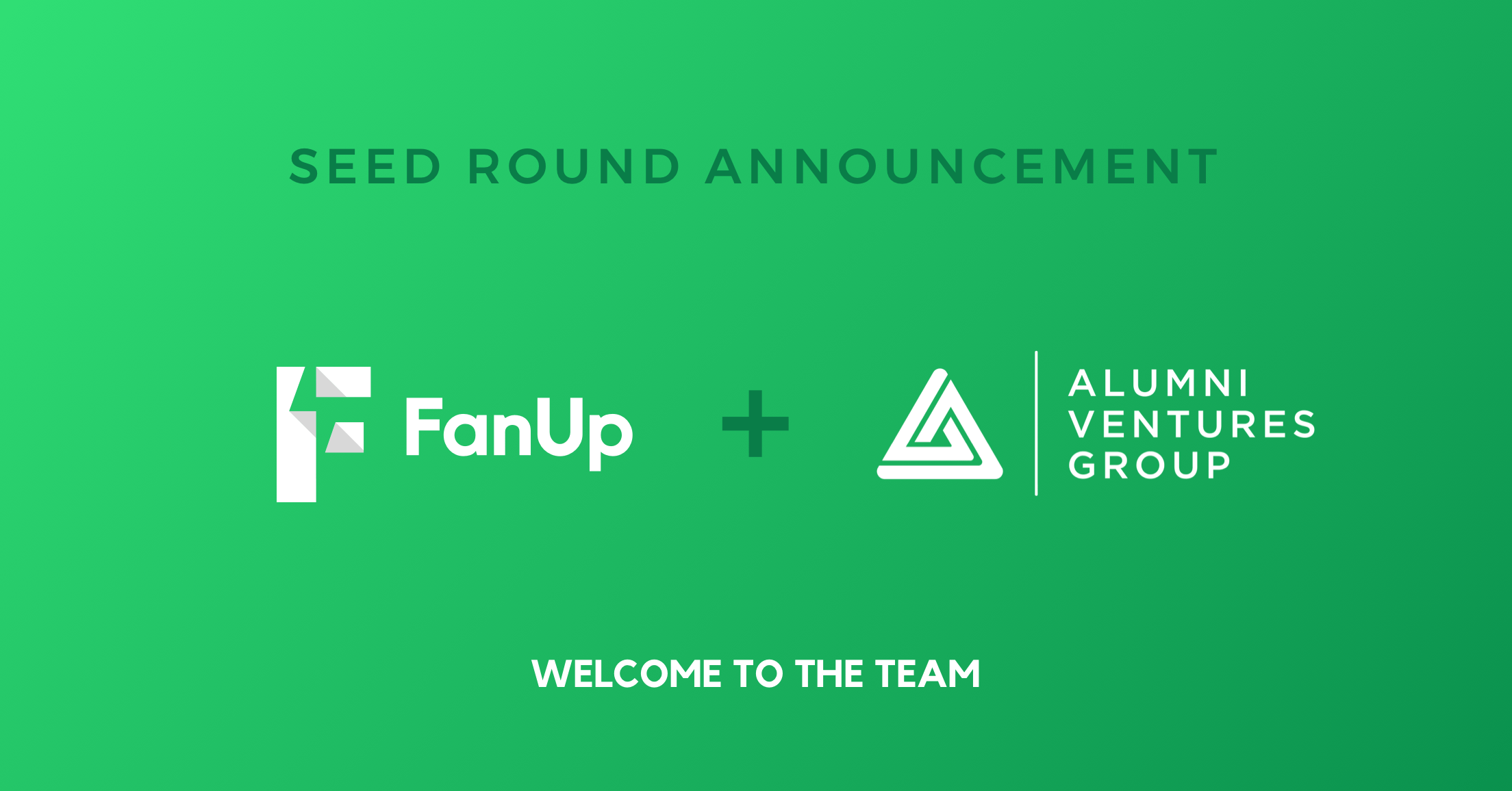 FanUp Hits Walk-Off Game Winner as Alumni Ventures Group Joins Team of Sports/Esports Seed Investors