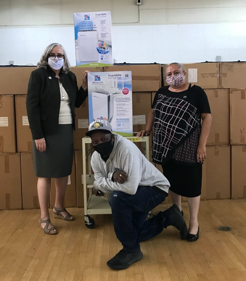 Ideal Living Donates 200 Air Purifiers to St. Mary's Center in Oakland CA