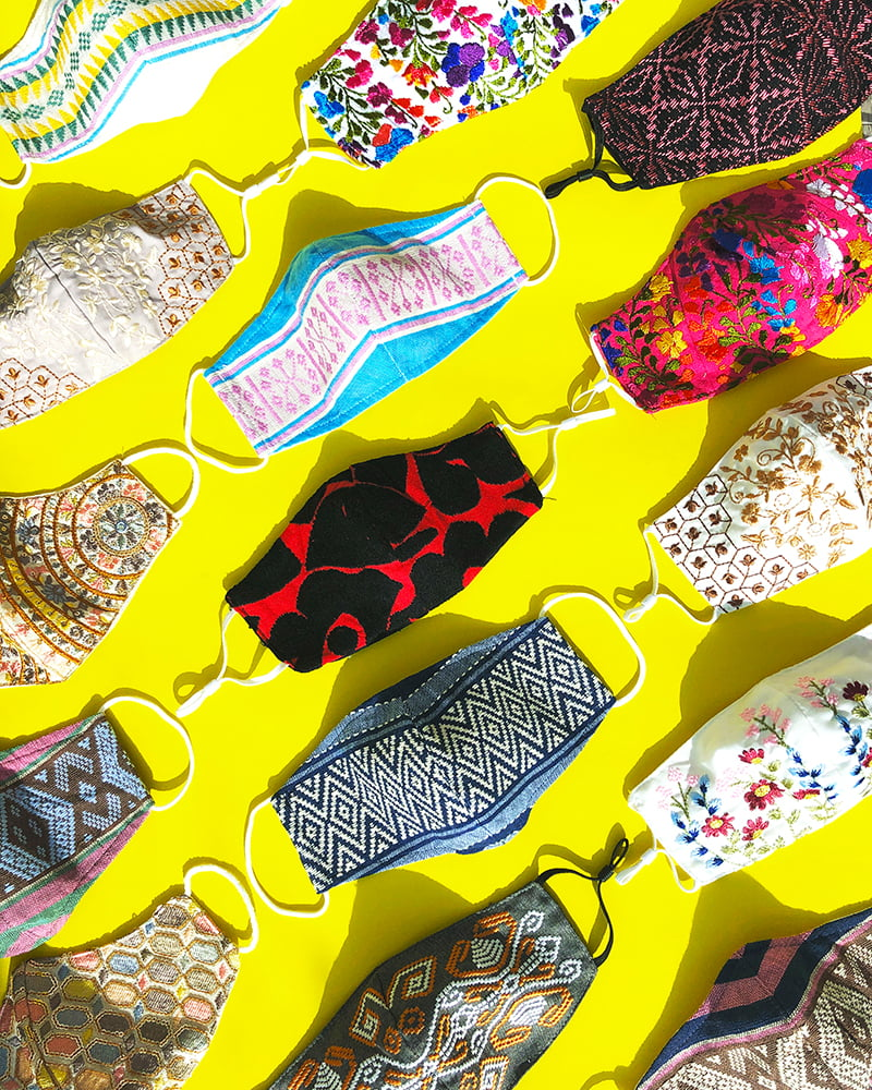 Saridjo x The Artisans Collection of Face Masks Helps Clients Look Good, Feel Good and Do Good