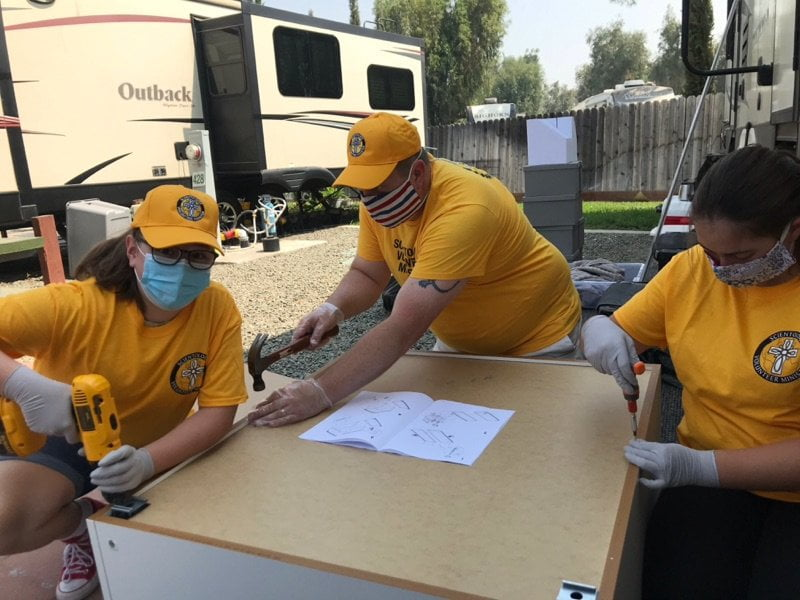 Scientology Disaster Response Teams Cope While Continuing COVID-19 Precautions