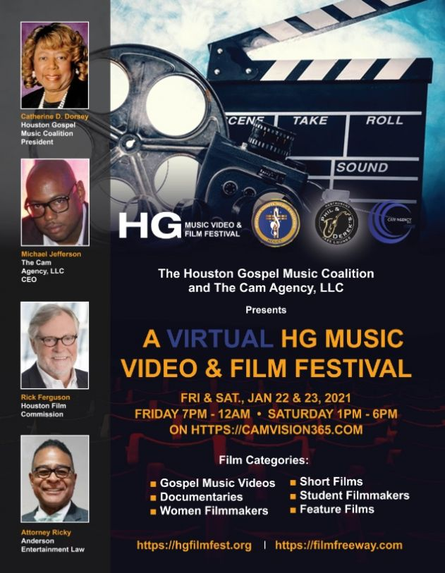 2nd HG Music Video and Film Festival Goes Virtual, January 22 – 23, 2021