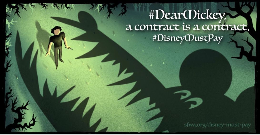 #DisneyMustPay Writer Alan Dean Foster, SFWA President Kowal Calls on Disney to Honor Its Contracts