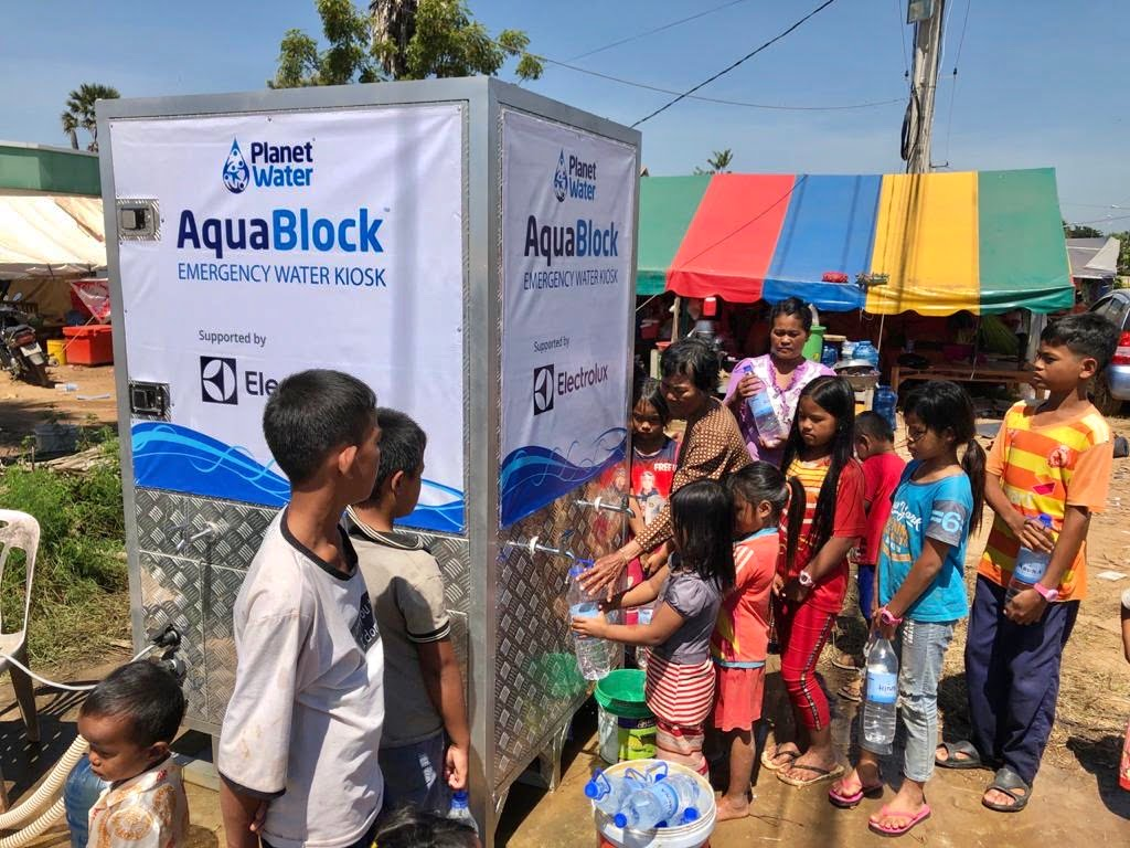 Electrolux and Planet Water Foundation Bring Clean Water to Communities Impacted by Devastating Flooding in Cambodia