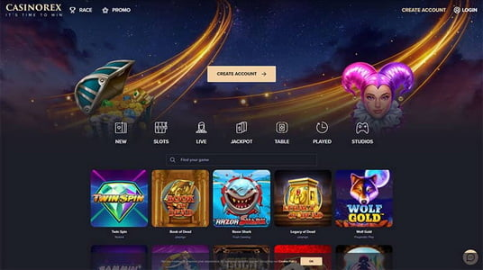 CasinoRex – The review of the new European casino