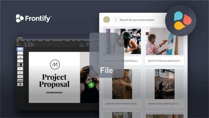 Frontify Launches the First Desktop App for Company Brand Content