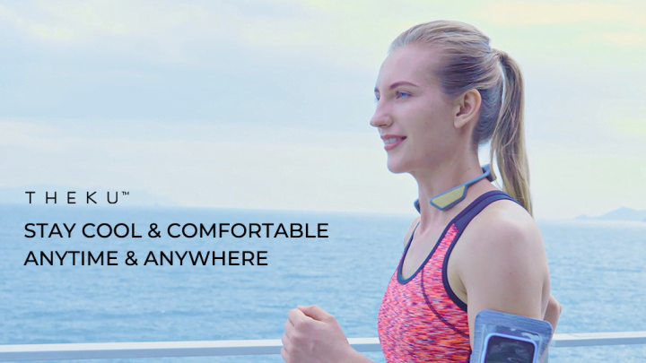 THEKU Launches the World's First Wearable Mini-Type Body-AC