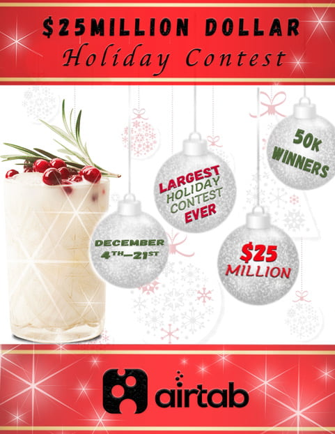 AirTab Launches the Largest Holiday Radio Contest in History Promoted on iHeartRadio