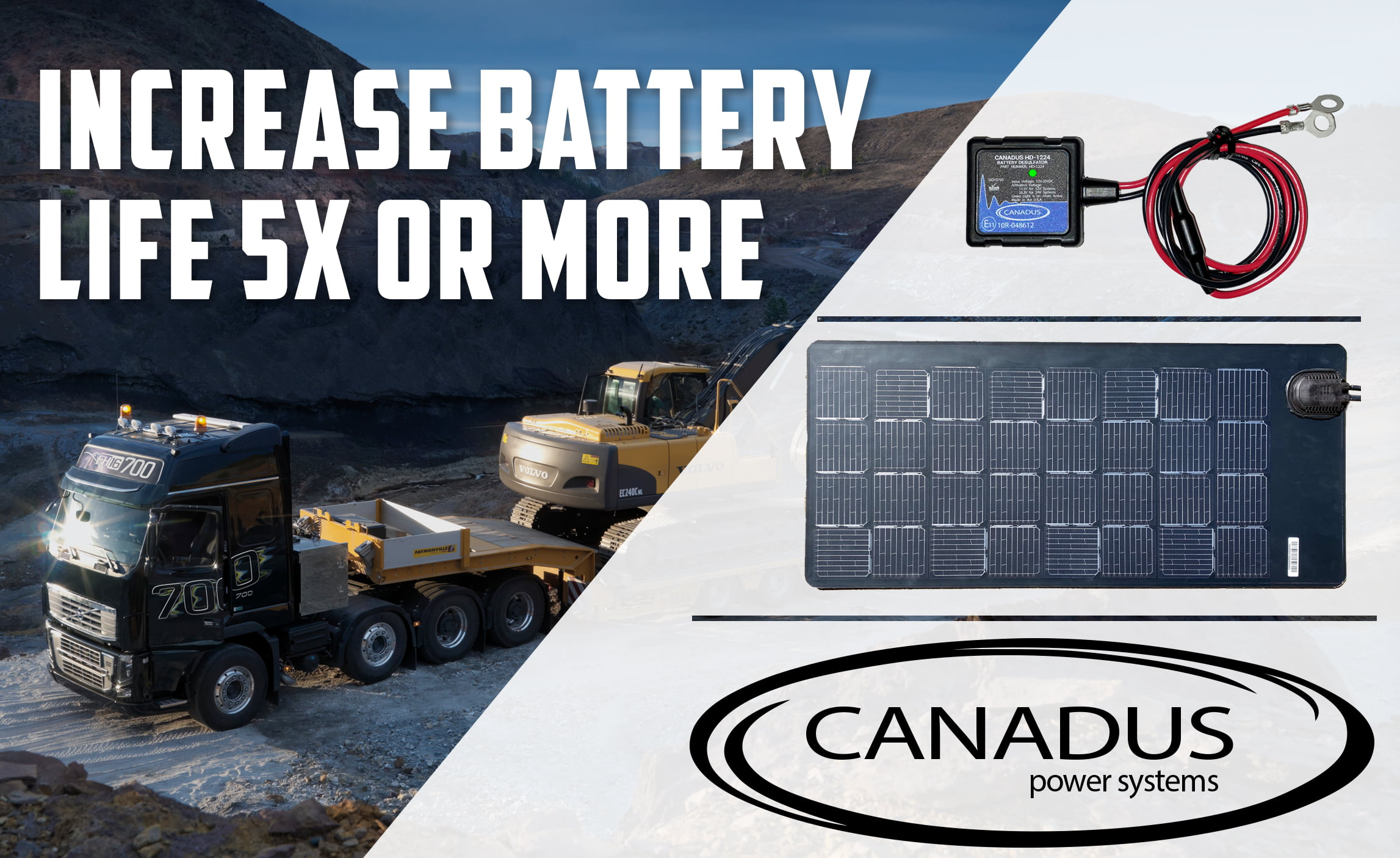 Canadus Power Systems and Merlin Solar Provide a New Method to Maintain Charged Batteries by Melding Two Proven Technologies