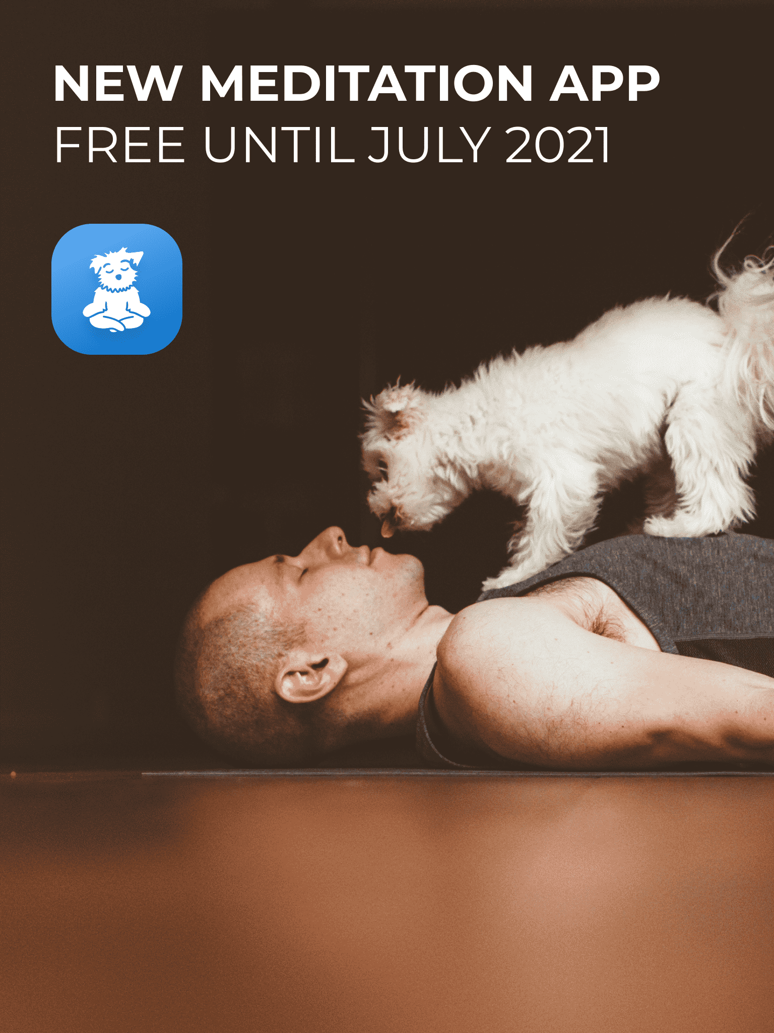 The #1 Rated Yoga App, Down Dog, Releases Free Meditation App.