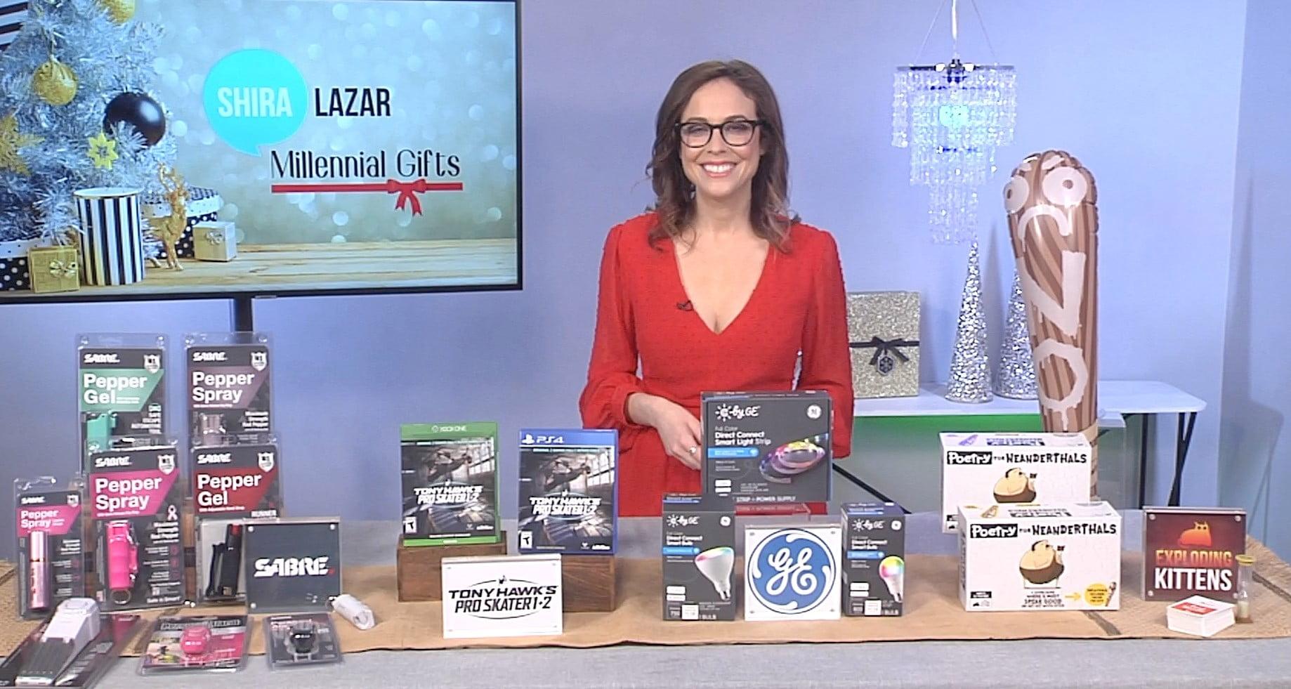 Social Media Expert Shira Lazar Shares Millennial Gift Ideas with TipsOnTV